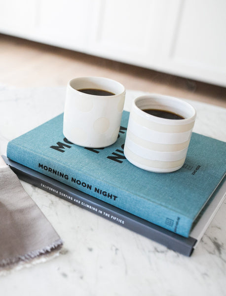 No-Handle Mug Set