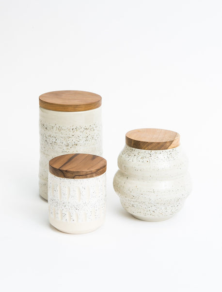 Ceramic Sand Canister Set
