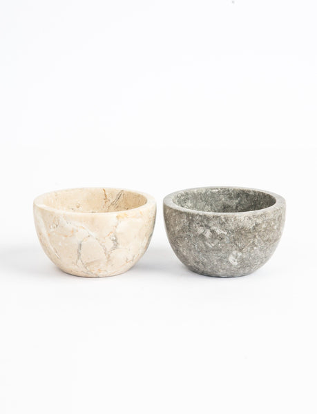 Marble Pinch Bowl Set