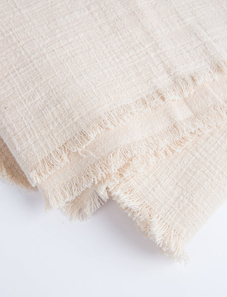 Plant-Dyed Throw - Blush