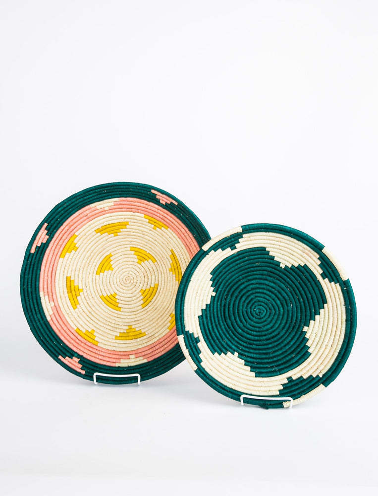 Circular Basket Set - Teal