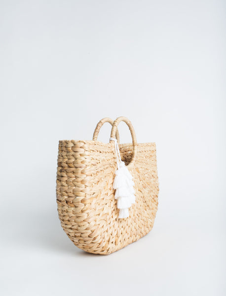 The Goldie Woven Bag