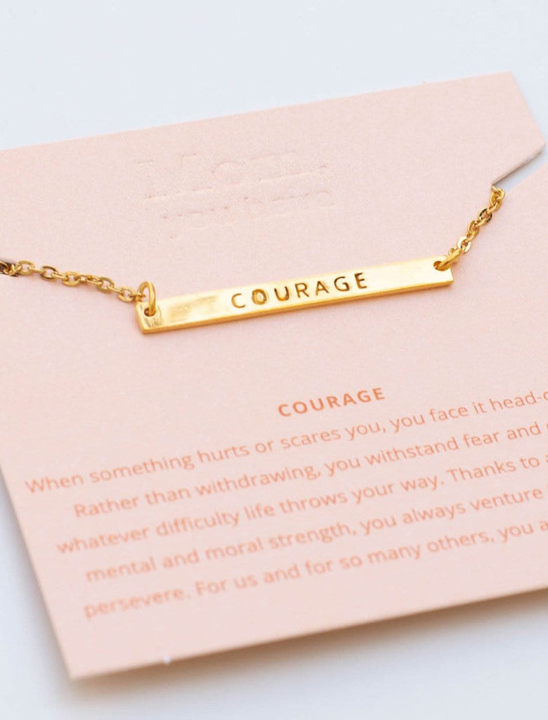 Mother's Virtue Necklace - Courage