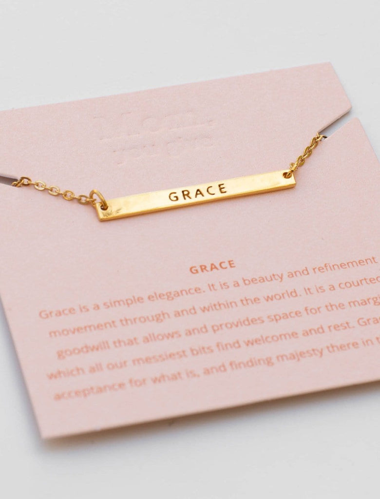 Mother's Virtue Necklace - Grace
