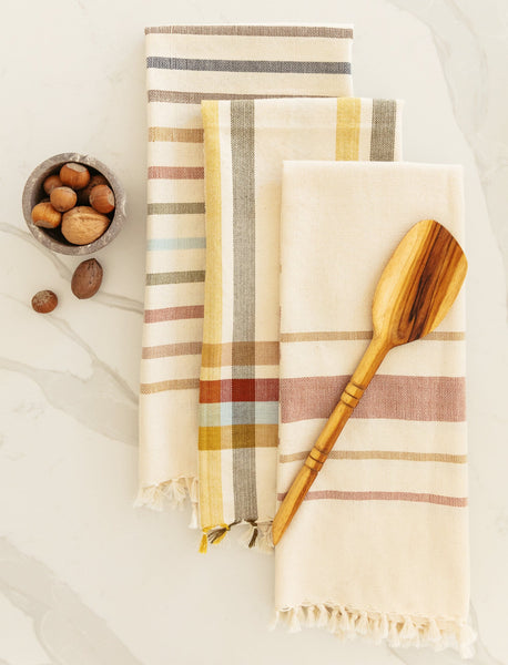 Garden Hues Tea Towels - Set of 3