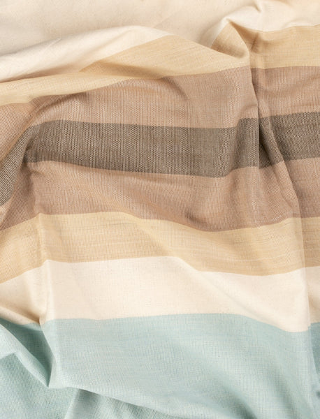Sky to Summit Striped Throw