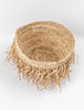 Small Fringed Basket