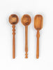 Carved Serving Spoon Set