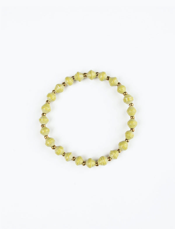 Lime Stacking Bracelet