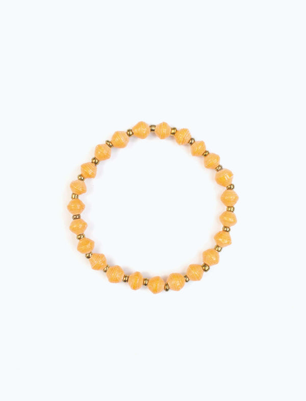 Tangerine Stacking Bracelet