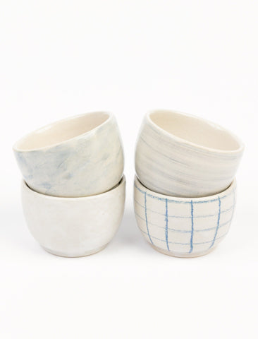 Blue Mist Pinch Bowl Set
