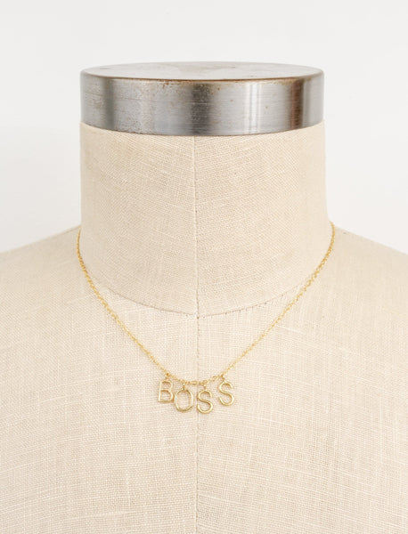 Boss Necklace by Ayesha Curry