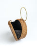 Woven Drum Bag - Metal Handle