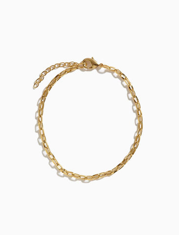 Balance Box Gold Plated Bracelet