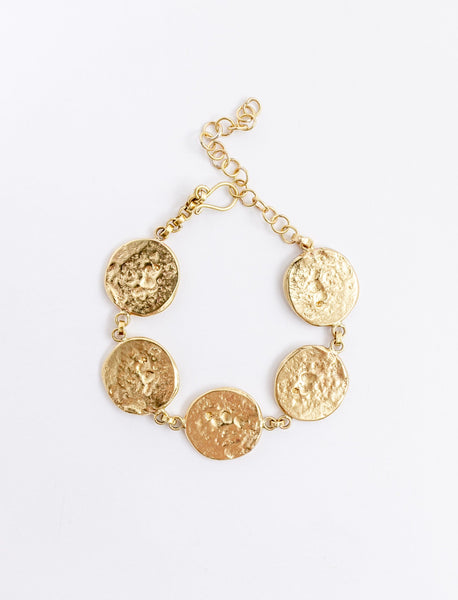 Connected Coin Bracelet