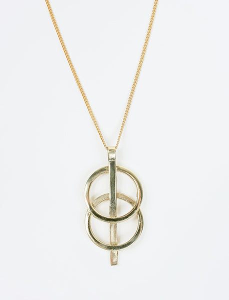 Forever Circles Pendant Necklace