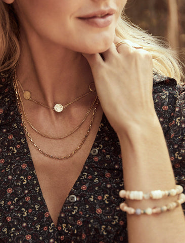 Goldie Dot Necklace