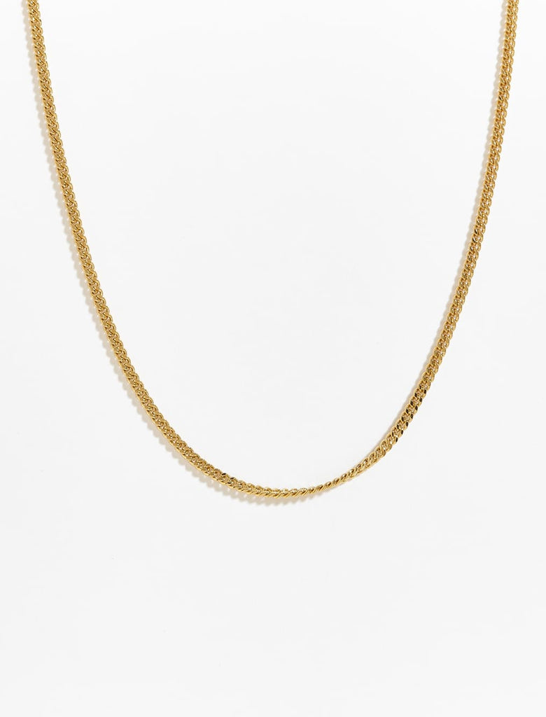 Lovely Link Gold Plated Chain Necklace
