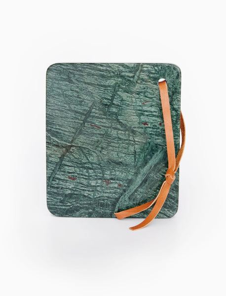 Petite Marble Cheesboard - Dark Green