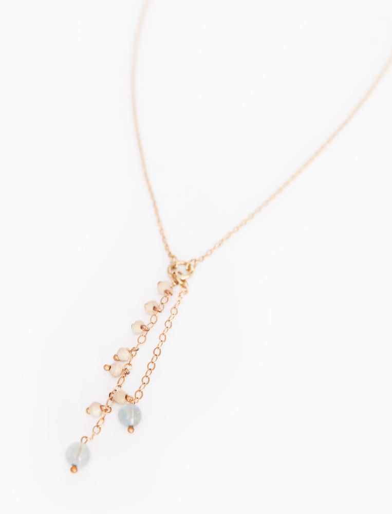 Shimmer Lariat Necklace