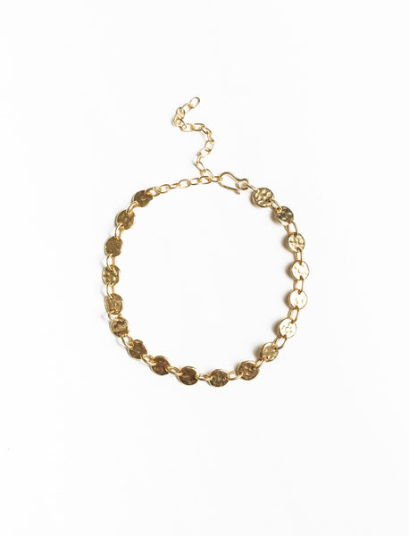 Sweeping Dot Bracelet