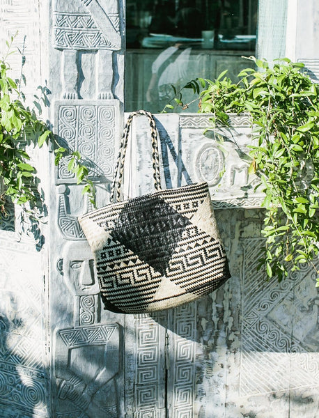Patterned Seaside Tote