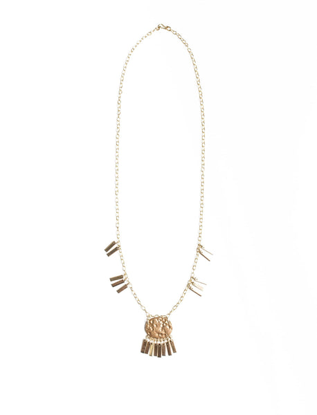 Indah Fringe Necklace