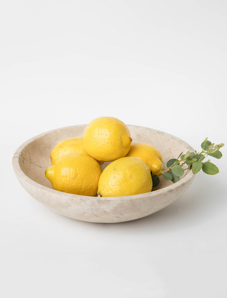 Marble Display Bowl - Natural
