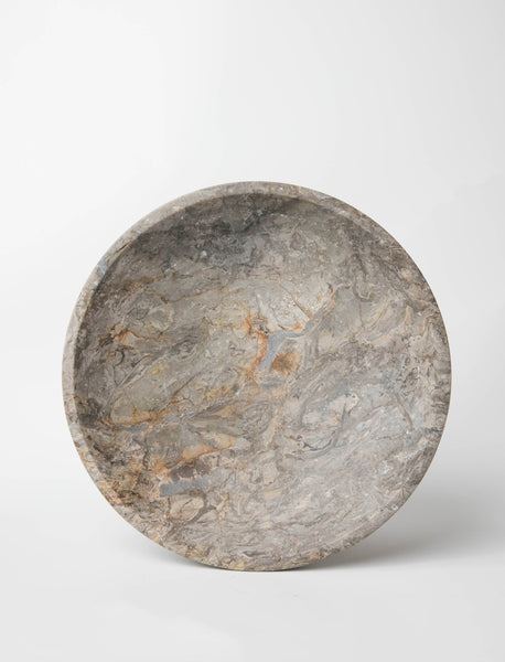 Marble Display Bowl - Charcoal