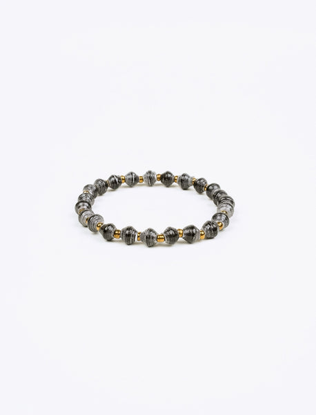 Black Stacking Bracelet