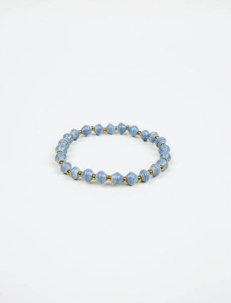 Blue Stacking Bracelet