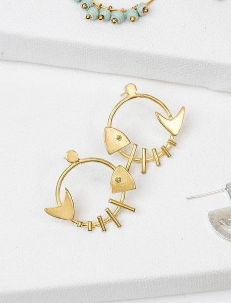 Ikan Earrings