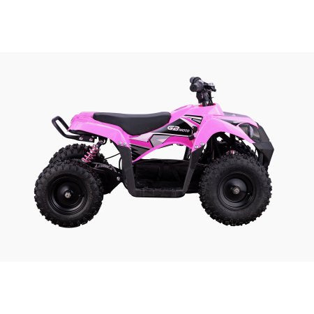 Go-Bowen Monster 500W 36V Mini Quad, Pink - XW-EA25-P - Charged Riders