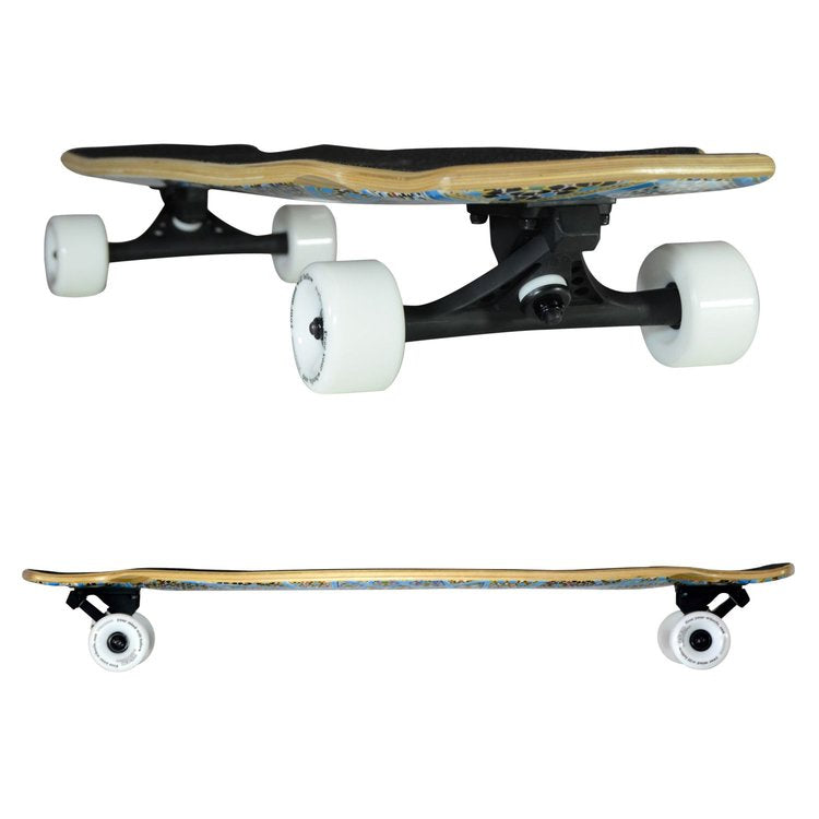 Atom Downhill / Freeride Longboard - 37 Inch (Magic Carpet) - 40011 - Charged Riders