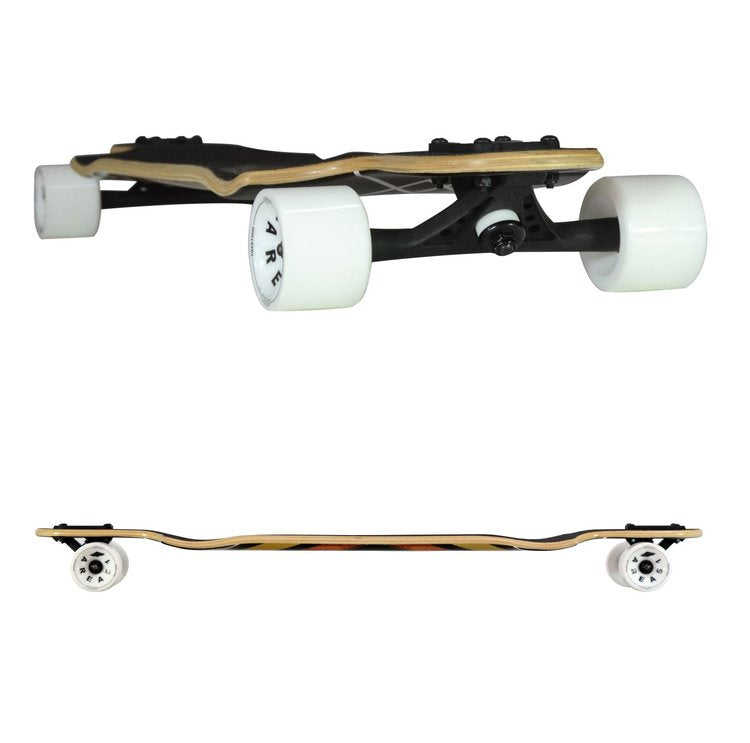 Atom Double Drop Longboard - 38 Inch (Woody Diamond) - 40018 - Charged Riders