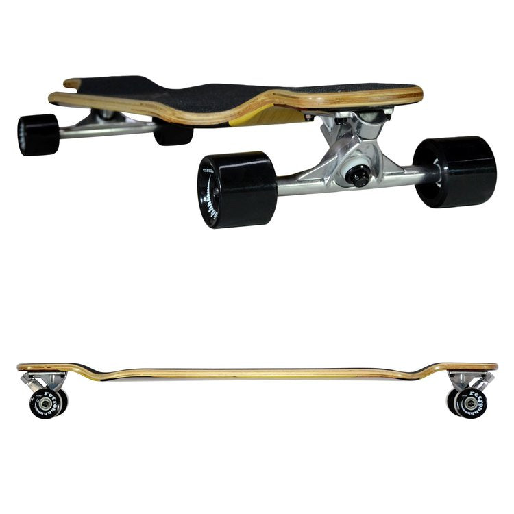 Atom Drop Deck Longboard - 39 Inch (Woody) - 40019 - Charged Riders
