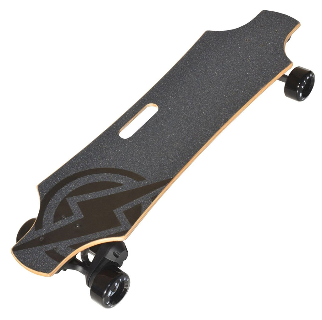 Atom Longboards Atom Electric B.18 Longboard Skateboard - 1800W Single Belt Drive - 180Wh Li-Ion Battery - Charged Riders