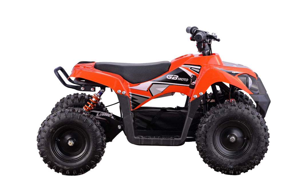 Go-Bowen Monster 500W 36V Mini Quad, Orange - XW-EA24-O - Charged Riders