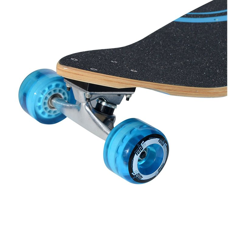 Atom Lowrider Longboard - 39 Inch (Blue Headphones) - 91005 - Charged Riders