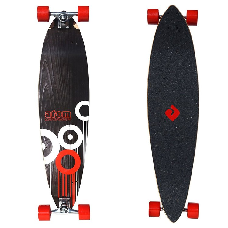 Atom Lowrider Longboard - 39 Inch (Circles) - 91054 - Charged Riders