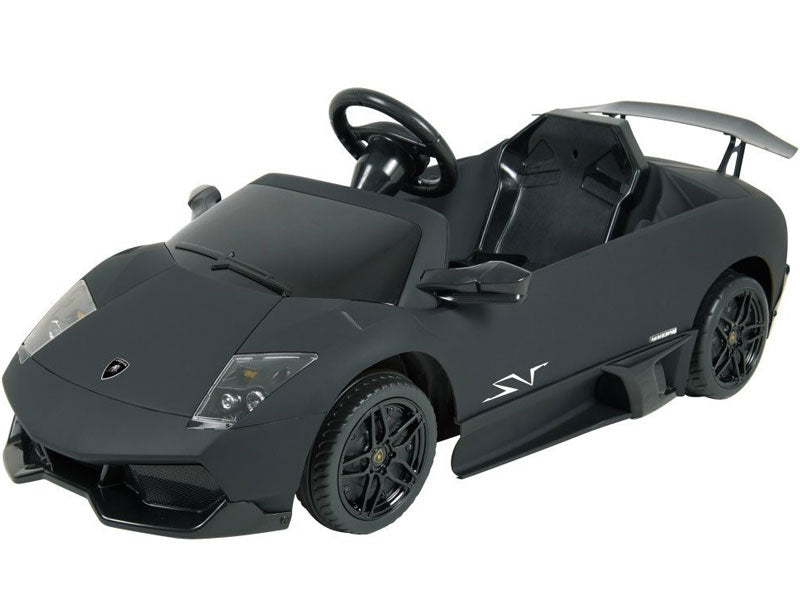 Kalee Lamborghini Murcielago LP670 12v Black - Charged Riders