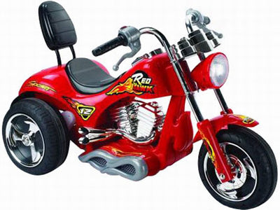 Mini Motos Red Hawk Motorcycle 12v Red - Charged Riders