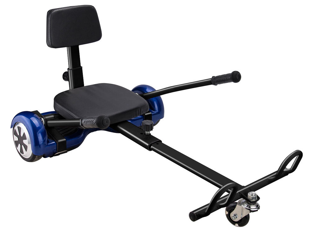 MotoTec Self Balancing Scooter Go Kart Attachment Black - Charged Riders