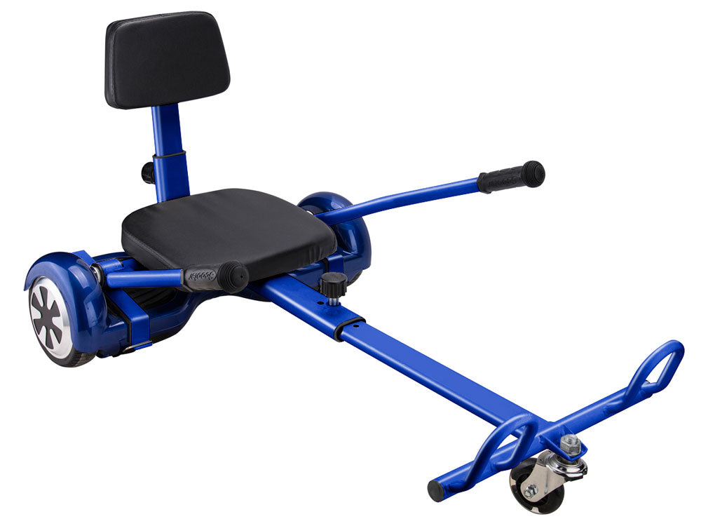 MotoTec Self Balancing Scooter Go Kart Attachment Blue - Charged Riders