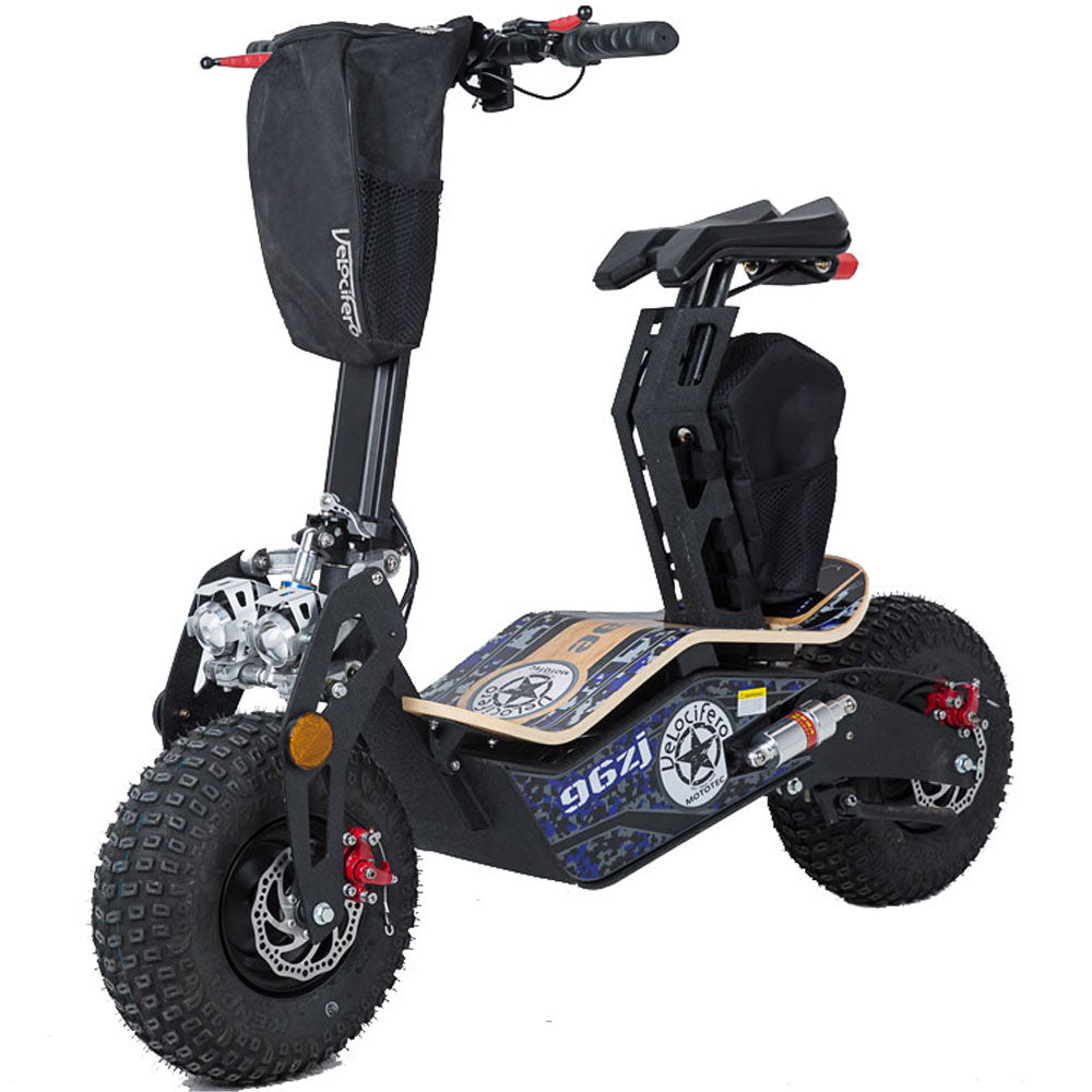 MotoTec Mad 1600w 48v Electric Scooter - Charged Riders