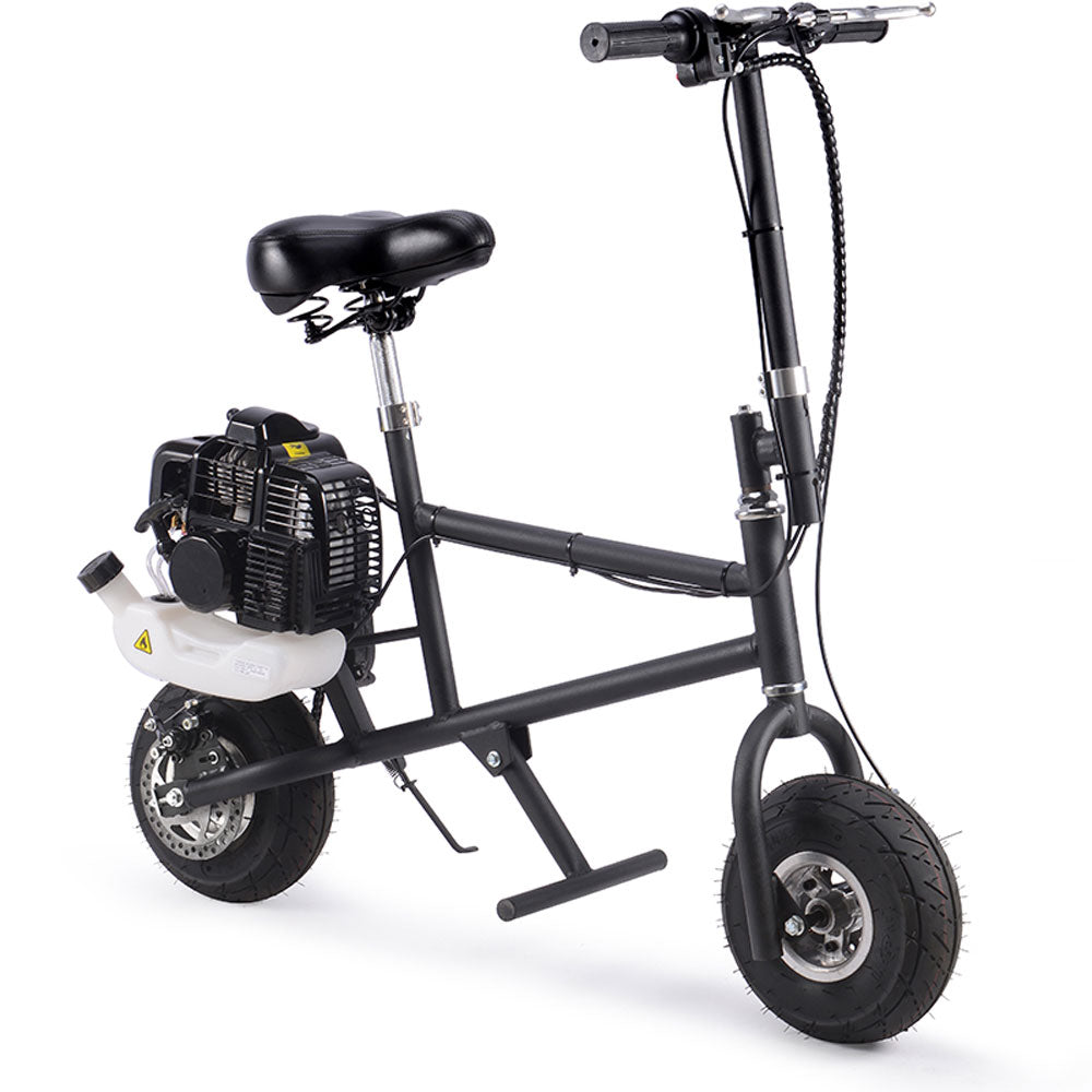 Say Yeah 49cc Gas Scooter Black - Charged Riders
