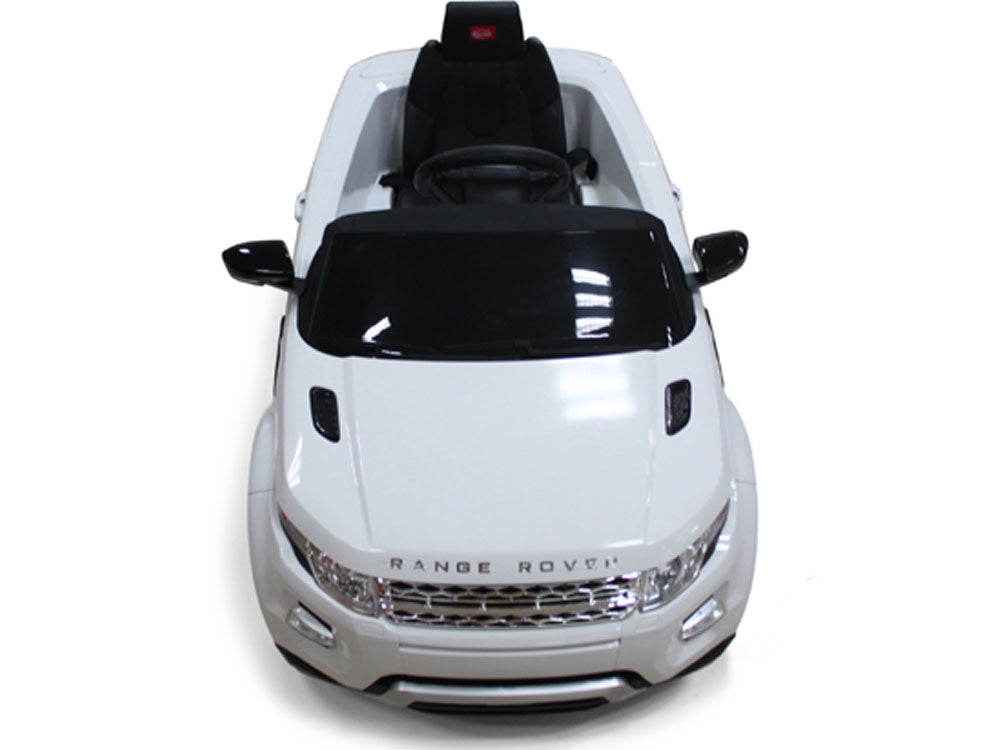 Rastar Land Rover Evoque 12v White (Remote Controlled) - Charged Riders