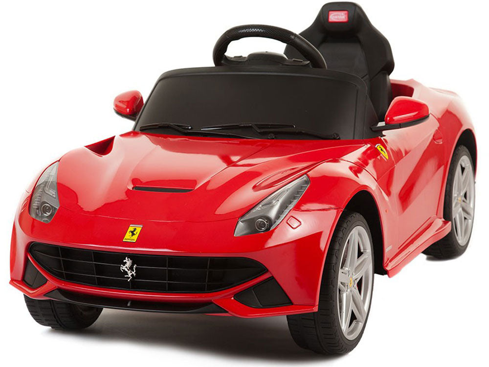 Rastar Ferrari F12 12v Red (Remote Controlled) - Charged Riders