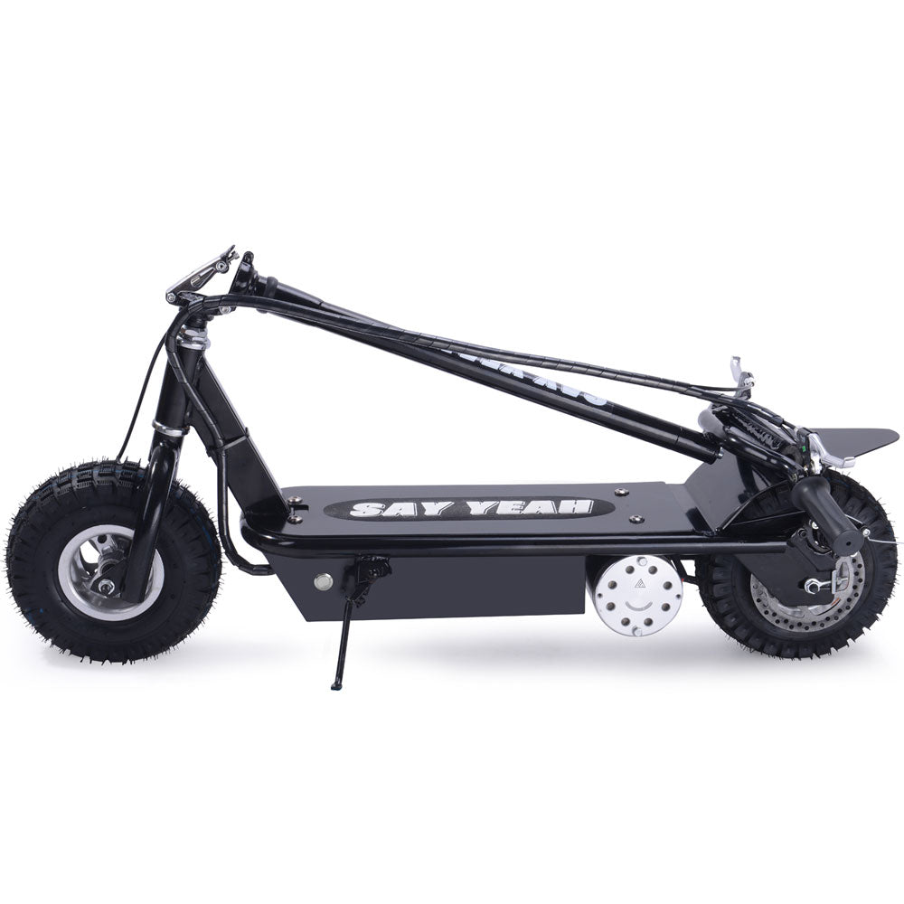 Say Yeah 800w 36v Electric Scooter Black - Charged Riders