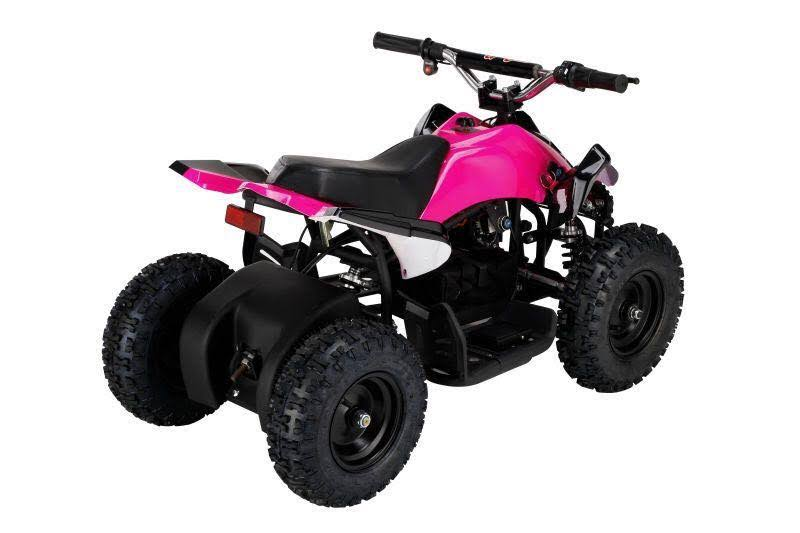 Go-Bowen Mars 350W 24V Kids Mini Quad, Pink - XW-EA15-P - Charged Riders
